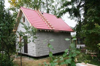 Садовые дома из кирпича своими руками 37